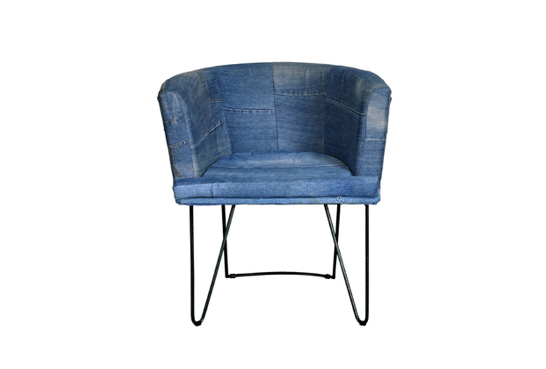 D-Blue kara beriah blue chair