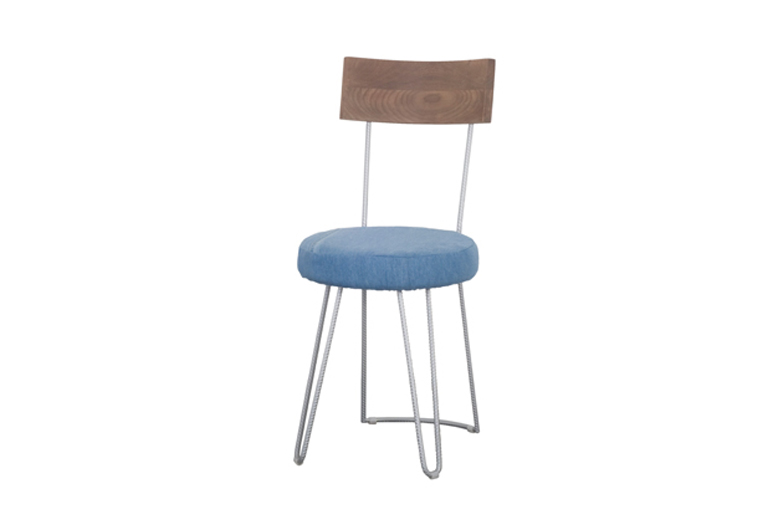 D-Blue Campania blue chair